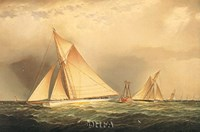 Puritan & Priscilla off Sandy Hook Fine Art Print