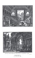 Portico Framed Print