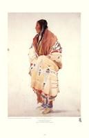 Chan-Cha-Uia-Teuin, Teton Woman Framed Print