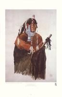 Mandeh-Pahchu, Mandan Man Framed Print