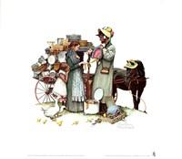 Country Pedlar Fine Art Print