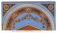 Detail/Loggia in the  Vatican II Fine Art Print