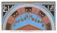 Detail/Loggia in the Vatican III Framed Print