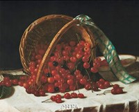 Basket of Cherries Fine Art Print