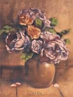 Vintage Chic Roses II Fine Art Print