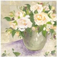 Berries & Roses II Framed Print