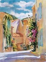 Coastal Village, France Fine Art Print
