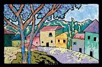 Village Morning Fine Art Print