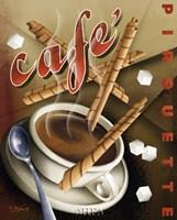 Cafe Pirouette Fine Art Print