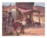 Ghost Town Fine Art Print