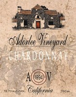 Adorlee Vineyards Fine Art Print