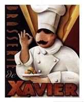 Brasserie de  Xavier Framed Print