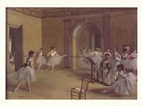 Dance Foyer at the Opera Framed Print
