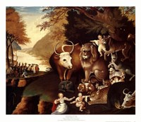 Peaceable Kingdom Fine Art Print
