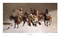 Return of the Blackfoot War Party Fine Art Print