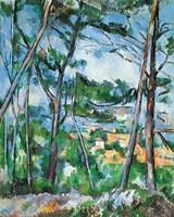 Landscape Near Aix Fine Art Print