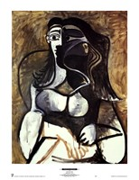 Woman in an Armchair Fine Art Print