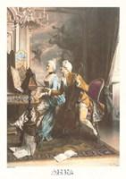 Love's Duet Fine Art Print