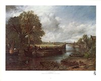 View on the Stour near Dedham Fine Art Print