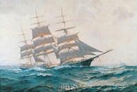 Toward Far Horizons, Ship Triumphant Fine Art Print