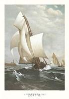 A Winning Yacht Fine Art Print