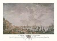 Vue de la Ville et du Port de Bordeaux Fine Art Print