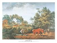 American Farm Scenes Fine Art Print