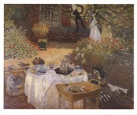 Luncheon in the Garden Fine Art Print
