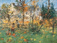 Autumn Ritual Fine Art Print