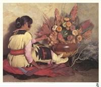 Crucita, a Taos Indian Girl Fine Art Print