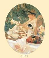Le The dans le Jardin Fine Art Print