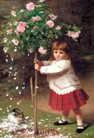 The Young Gardener Fine Art Print