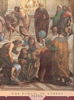 The School of Athens (Detail, Right) Fine Art Print