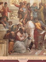The School of Athens (Detail, Left) Framed Print