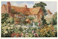 The Cottage in Summer Fine Art Print