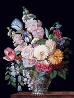 A Vase of  Summer Flowers Fine Art Print
