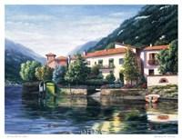Lenno Reflections Fine Art Print