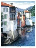 Vista di Lago Fine Art Print