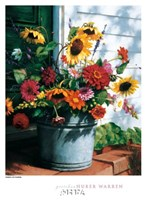 Freshly Cut Flowers Fine Art Print