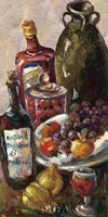 Pears and Wine Fine Art Print