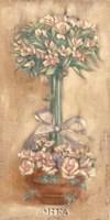 Pink Ophelia Topiary Fine Art Print
