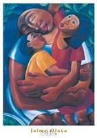 La Familia Framed Print
