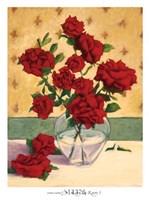 Rue Cler Roses I Fine Art Print
