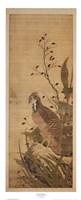 Bird on Embankment Fine Art Print