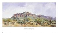 Superstition Mountain Fine Art Print