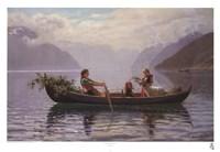 Hardanger Fjord Framed Print