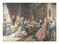 An Afternoon Concert Fine Art Print