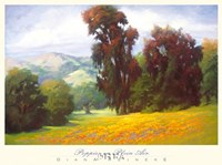 Poppies en Plein Air Fine Art Print
