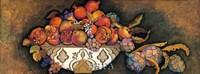 Artichokes & Pomegranates/Moroccan Bowl Framed Print