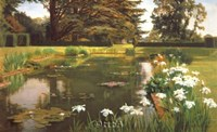 The Garden, Sutton Place, Surrey Fine Art Print